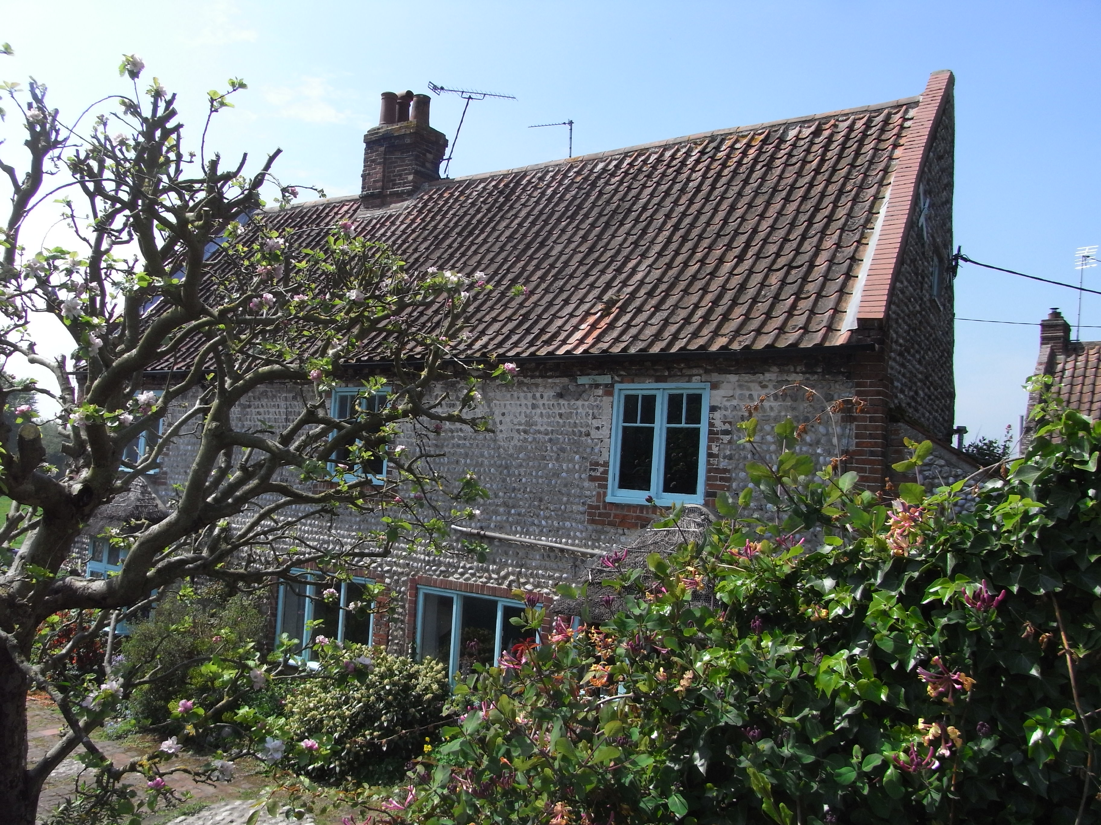 House at Cley, North Norfolk